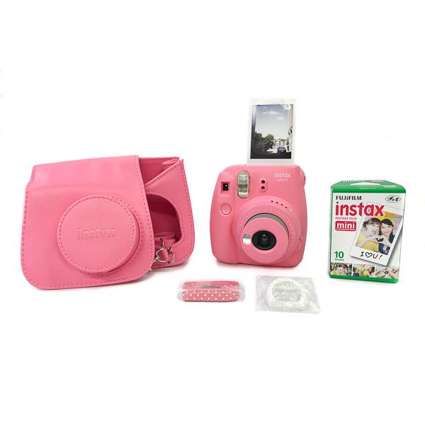 polaroid instax mini 9 ricariche  Fujifilm Instax Mini 9 - kit borsa e pellicola   Hobbyfoto