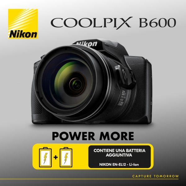 Nikon Coolpix B600 Power More (Hobbyfoto Perugia)