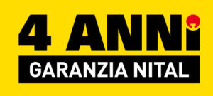 Garanzia Ufficiale Nital 4 anni