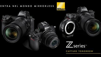 Entra nel mondo Mirrorless di Nikon
