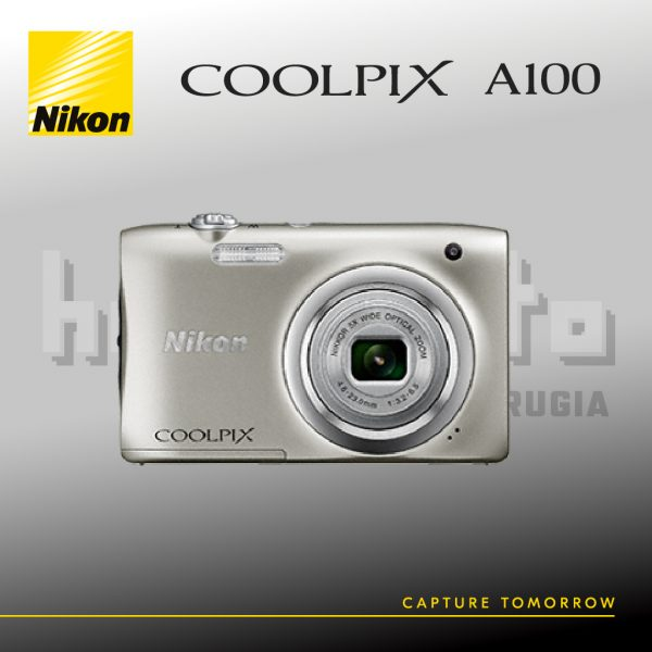 Nikon Coolpix A100 Silver (Hobbyfoto Perugia)