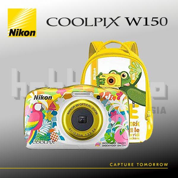 Nikon Coolpix W150 Resort + Zainetto HobbyFoto Perugia