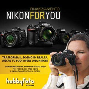 Finanziamento Nikon For You