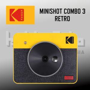 Mini Shot Combo 3 retro Yellow