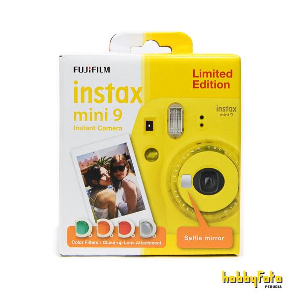 clear yellow instax mini 9