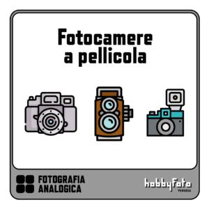 Fotocamera a pellicola (analogica)