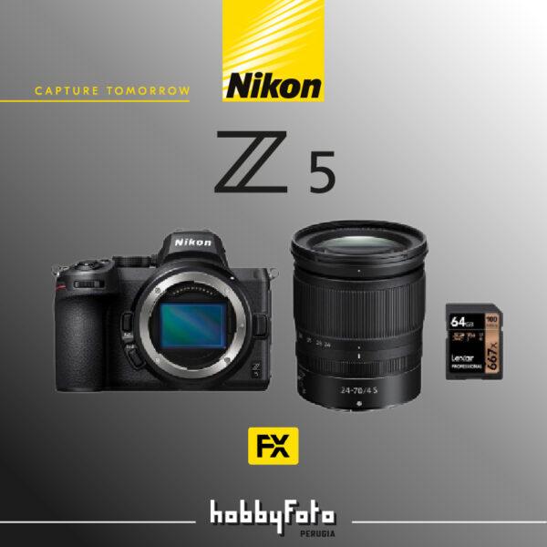 Nikkor Z5 kit 24-70 + SD - Hobbyfoto