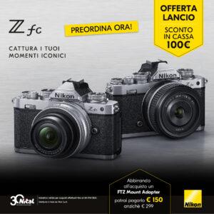 Nikon Z fc offerta lancio | fino al 30/9